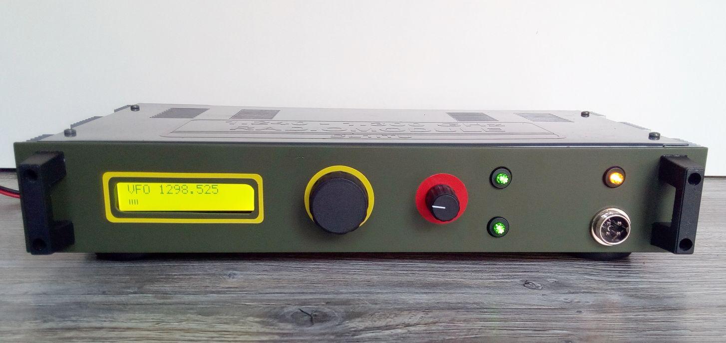 23cm NBFM transceiver | PE1JPD amateur radio projects